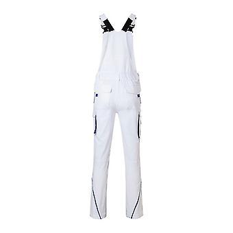 James and Nicholson Unisex Workwear Pants with Bib Level 2