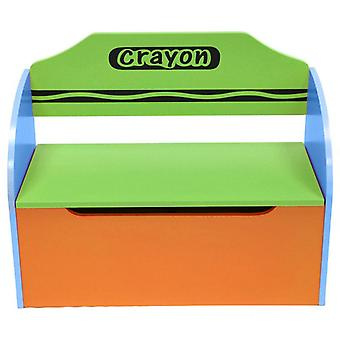 Kiddi Style Crayon Toy Box + Bench
