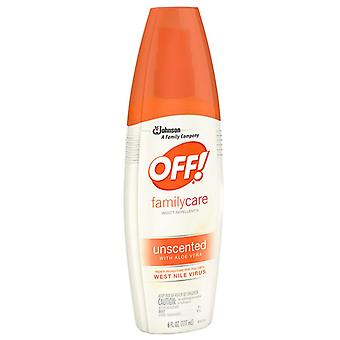 Off! familycare insect repellent iv spray, 6 oz