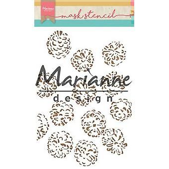 Marianne Design Stencils Tiny's Pine Cones Ps8010 15x21cm