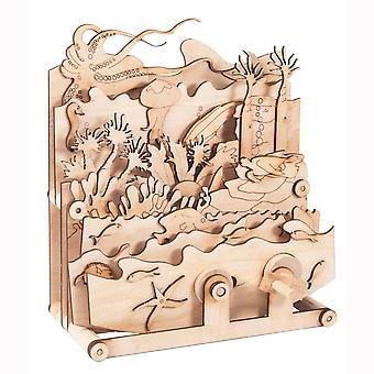 Timberkits Ocean Motion Kit - Wooden Moving Model Self Assembly Construction Gift