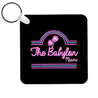 Scarface Babylon Club Miami Keyring