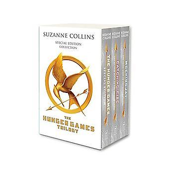 Hunger Games Trilogy (hvid jubilæum boxed sæt) af Suzanne Collins