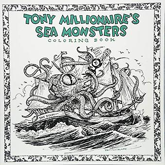 Tony Millionaire's Sea Monsters Coloring Book by Tony Millionaire - 9