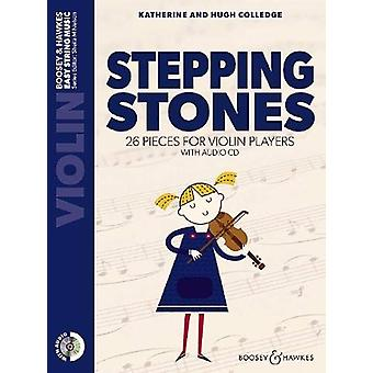 Stepping Stones - 26 Pieces for Violin Players by Hugh Colledge - 9781