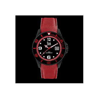 ICE WATCH - wrist watch - 015782 - ICE steel - black red - large - 3 H