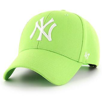 47 Brand Snapback Cap - MLB New York Yankees lime green