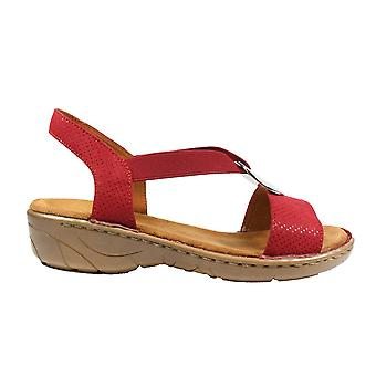 Ara Korsika-lll 57264-86 Red Womens Sling Back Sandals