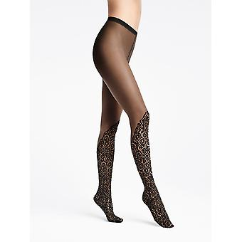 Wolford Banded Poison Dart Over The Knee Tights