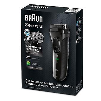 Rasierer Braun 3020S schwarz