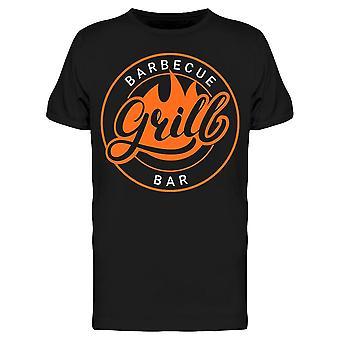 Barbecue Grill Bar Tee Men's -Bild von Shutterstock