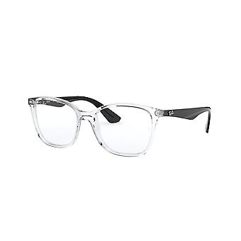 Ray-Ban RB7066 5943 Transparent-Black Glasses