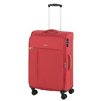 Hardware Revolution Trolley M, 4 Rollen, 69 cm, 72  L, Rot