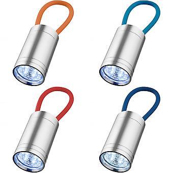 Opsommingsteken Vela 6-LED zaklamp met gloed riem