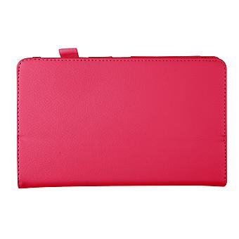 "Magnetic PU Leather Case for Samsung Galaxy Tab Pro 8.4"" T320[Hot Pink]"