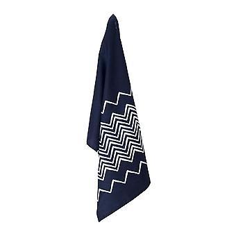 Panya Linen Tea Towel 50x70cm Indigo