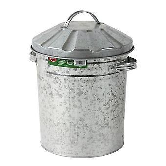 Embajador Mini Galvanised Bin