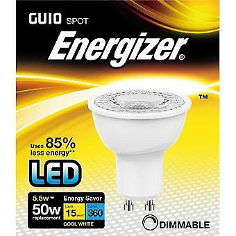Energizer LED GU10 5.5 w izzó Cap 360lm 4000k szabályozható