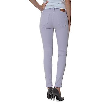 True Religion Pants Tube Slim HALLE HIGHER RISE SKINNY LEGGING Wash QY LILAC NEW