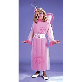 Pink Butterfly Princess Child Costume