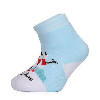 عيد الميلاد ثلج بيبي سيدات السماء الزرقاء طاقم الجوارب