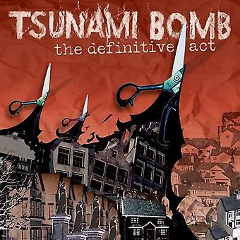 Tsunami Bomb - Definitive Act [CD] USA import