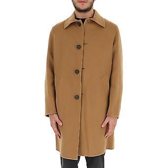 Acne Studios B901966400camelbrown Men's Beige Wool Coat