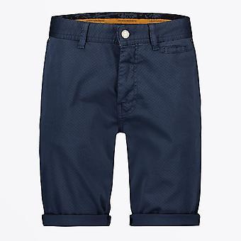 A Fish Named Fred  - Bermuda Dots Shorts - Navy Blue