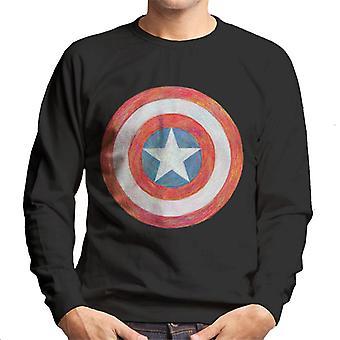 Marvel Captain America Schild Skizze Herren's Sweatshirt