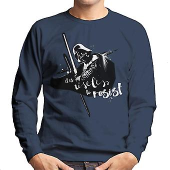 Star Wars Darth Vader It Is Useless To Resist Men's Sweatshirt