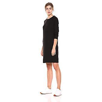 ブランド - 毎日の儀式の女性&アポ;s コージーニットラグランスウェットシャツドレス、ブラック、ラージ