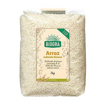 Økologisk rund hvit ris 1 kg