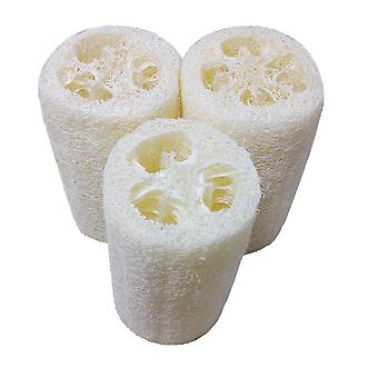 Natural Loofah Sponge And Scrubber Pad For Bath And Body Shower