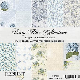 Reprint Dusty Blue12x12 InchCollection Pack