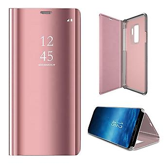 Samsung Galaxy S20 - Smart Clear View Fodral - Rosa