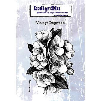 IndigoBlu Vintage Kornoelje A6 rubberstempel