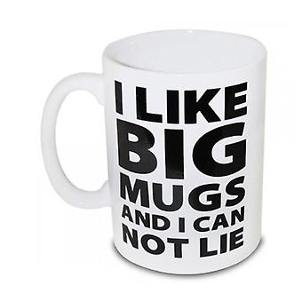 BigMouth J'aime big mugs tasse gigantesque