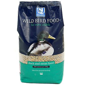 CJ Wildlife Duck And Swan Food - 1.5ltr