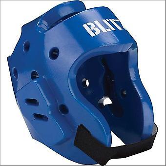 Blitz Sports gedimde Foam Hood Head Guard-blauw
