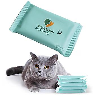 Pet Eyes Gentle Non-intivating Cleaning Wet Wipes - Dog Cleaning Paper Towels,