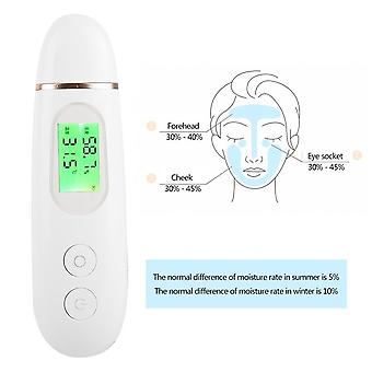 3 In1 Precision Skin Moisture Oil Content Detector Analyzer -humidity Fluorescence Detection Skin Tester Monitor Analyzer