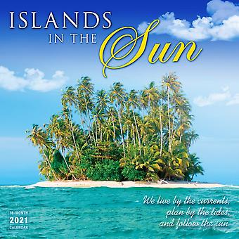 Islands in the Sun  Wall Calendar 2021 by Sellers Publishing