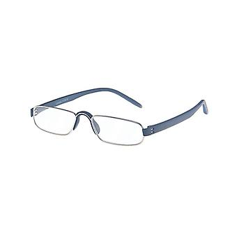 Reading Glasses Unisex Le-0163C Notary Blue Strength +4.00