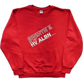 Brghtn Hv Albn Red Sweatshirt