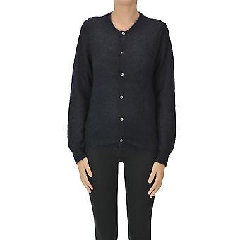 Comme Des Garçons Ezgl046028 Femmes's Cardigan en laine bleue