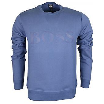 Hugo Boss Stadler 14 Pyöreä kaula säännöllisesti Fit Navy pusero