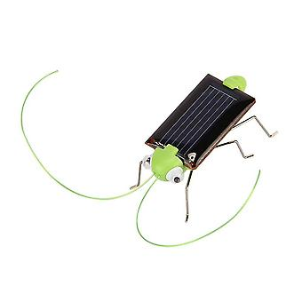 Educational Solar Powered Grasshopper Robot Toy Required Gadget Gift Toys No Batteries For Kids