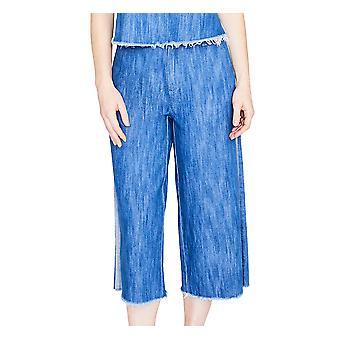 RACHEL Rachel Roy | April Katoen Bijgesneden wide-leg jeans
