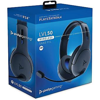 PDP LVL50 Wireless Stereo Gaming Headset PS4 - Grey