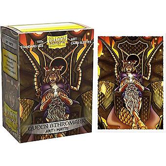 Dragon Shield Sleeves Queen Athromark 100ct Matte Art Card Sleeves (10 Units)